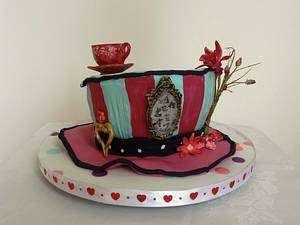 Madeline Hatter Hat - Cake by Fifi's Cakes