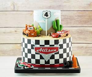 Disney Cars - Cake by Maria