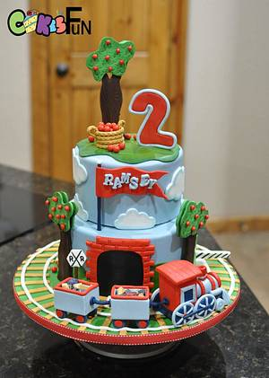 Train Cake - Cake by Cakes For Fun