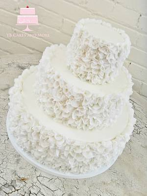 Ruffle Cake - Cake by YB Cakes and More