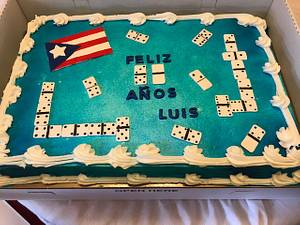 For A Domino Lover - Cake by Julia
