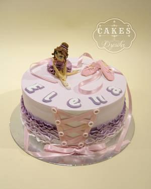 Ballet cake - Cake by Dzesikine figurice i torte