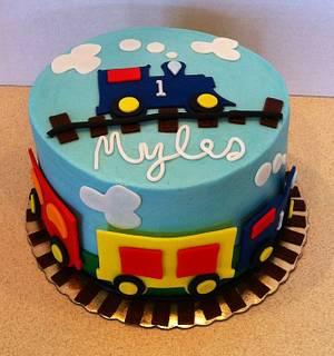 Choo choo - Cake by res3boys