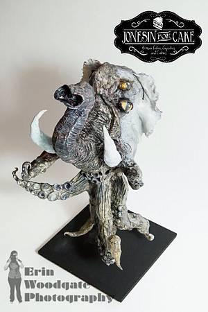 Ollie the Octophant  - Cake by Jonesin' for Cake