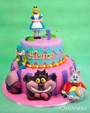 Alice in Wonderland - Cake by Sweet Success
