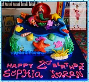 Little Mermaid cake - Cake by quennie