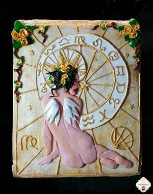 Colaboracion Cake Horoscopos....Virgo !!! - Cake by Cholys Guillen Requena