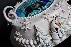 🎼 Do you want to build a snowman 🎶 - Cake by Trine Skaar