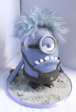 Mauve Minion - Cake by Mother and Me Creative Cakes