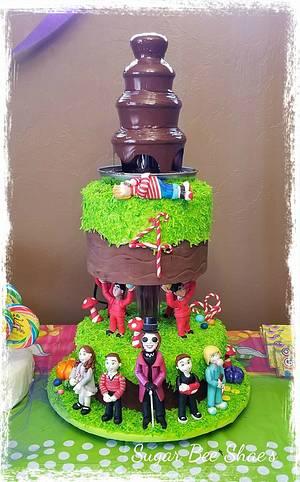 Wonka Factory - Cake by SugarBeeShaes