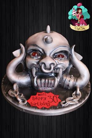 Motörhead War Pig x  - Cake by DusiCake