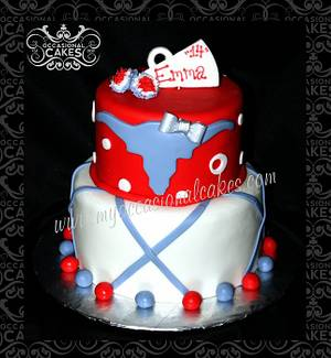 Cheerleader Themed Birthday Cake - Cake by Occasional Cakes