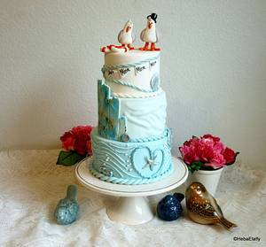 Engagement cake :) 'CPC Nemo Collaboration' - Cake by Sweet Dreams by Heba