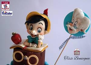 Pinocchio - Cake by Tissì Benvegna