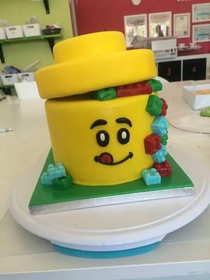 Lego Cake - Cake by ladygourmet