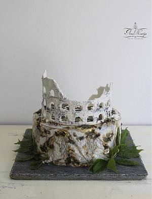 *Eternal inspiration -Coliseum* - Cake by Ana Marija cakes