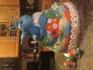 Ahoy Baby Shower - Cake by Cake Daze by Daisy