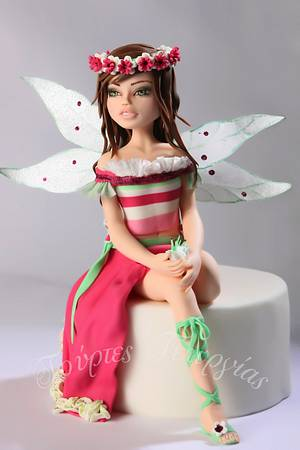 flower fairy - Cake by Georgia Ampelakiotou