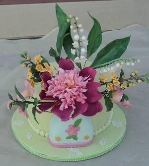 Happy Birthday Ann - Cake by Goreti