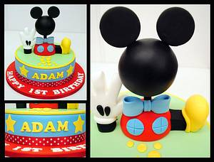 Mickey Mouse Clubhouse cake by Sweet Temptations Cakes - Cake by Louise Pain