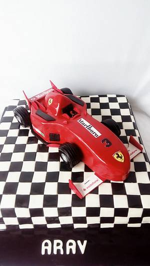 Formula 1 cake - Cake by Minna Abraham