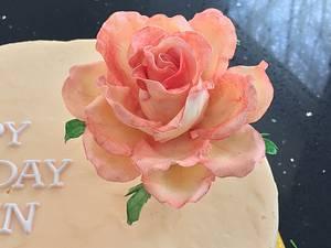 Buttercream Beauty. - Cake by CakesbyAnusha