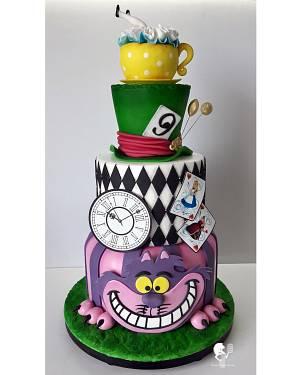 Alice in Wonderland - Cake by Antonia Lazarova