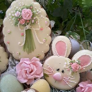 Sweetly Easter  - Cake by Teri Pringle Wood