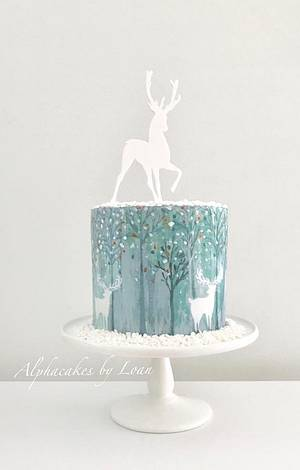 Oh deer 🦌  - Cake by AlphacakesbyLoan