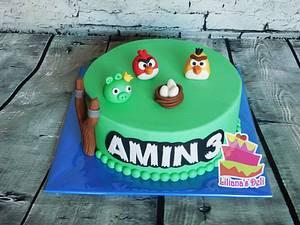 Angry birds - Cake by Liliana Vega