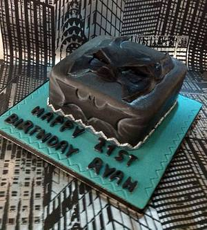 21st Batman cake - Cake by thetreatemporium