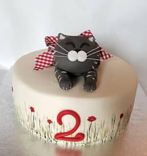 A kitten for Gaia - Cake by Eleonora Del Greco