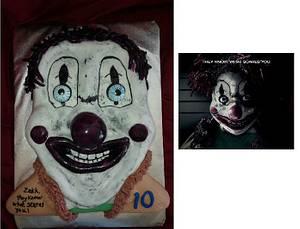 Poltergeist 2015 Clown - Cake by Pamela