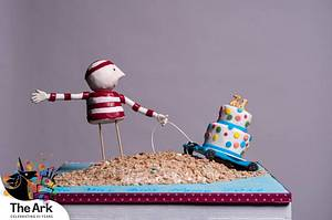 The Way Back Home - Cake by CakesbyKathy