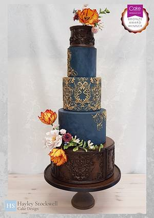 Dutch Masters inspired - Cake by hscakedesign