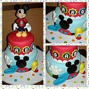 Mickey mouse clubhouse cake - Cake by Luga Cakes