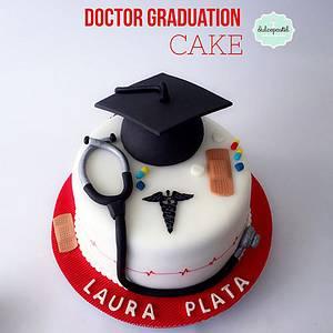 Torta Graduación Médico - Cake by Dulcepastel.com