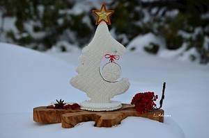 3D Christmas cookie tree - Cake by More_Sugar