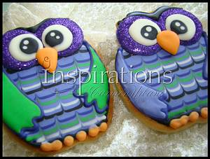 Inspiration's Spooky Cookies Cute Owl - Cake by Inspiration by Carmen Urbano