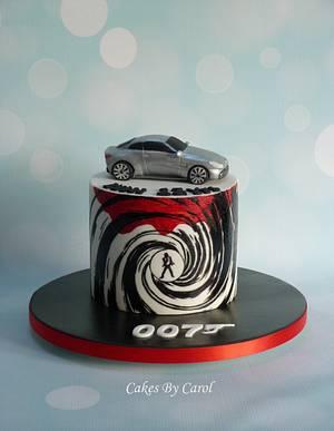 James Bond theme - Cake by Carol