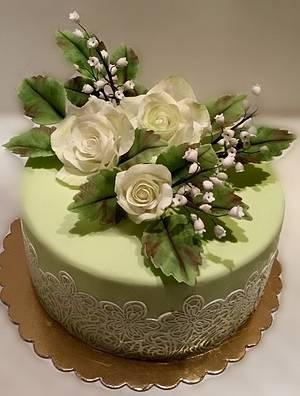 Birthday cake - Cake by Caracarla
