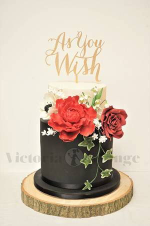 As You Wish - Cake by Victoria Forward