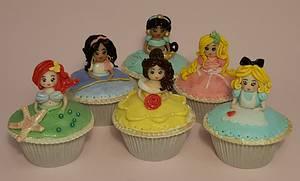 Little Princesses - Cake by Domnaki's