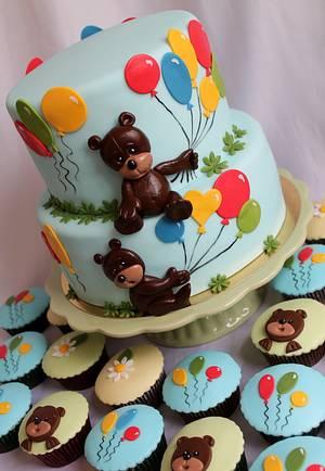Baloooooons - Cake by Kateřina Lončáková