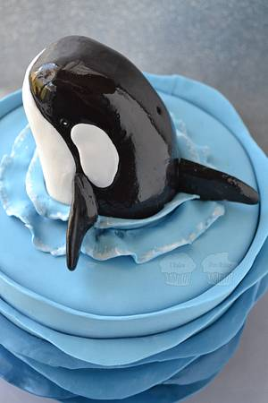 Orca Cake - Cake by Susan