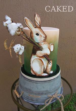Vintage Easter - Cake by CAKED By Cynthia White