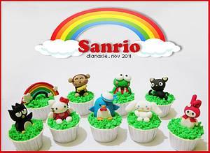 Sanrio friends - Cake by Diana