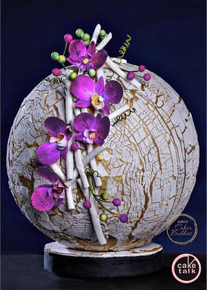 Ultraviolet Odyssey- PDCA CAKER BUDDIES COLLABORATION  - Cake by TheCakeTalk