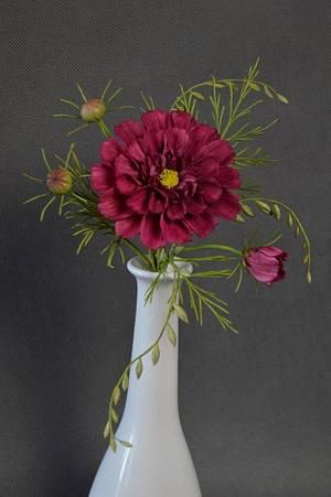 Cosmos Flower - Cake by JarkaSipkova
