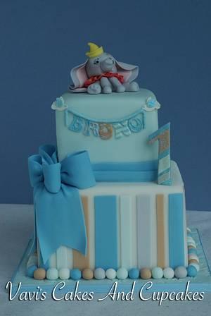 Bruno's 1st Birthday Cake - Cake by Vavijana Velkov